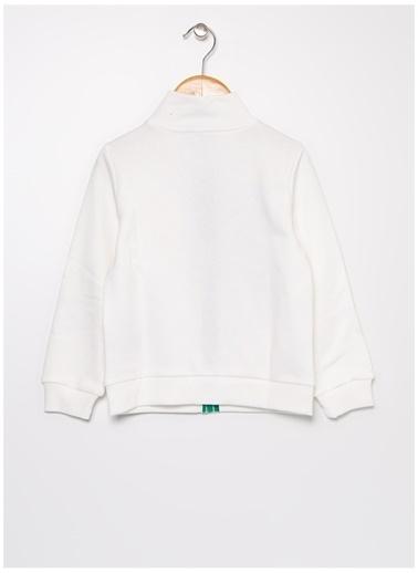 Benetton Sweatshirt Krem